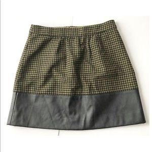 J Crew plaid skirt perfect for fall
